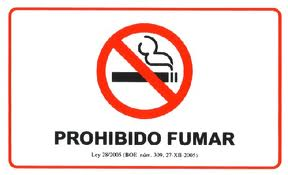 PROHIBIDO FUMARs