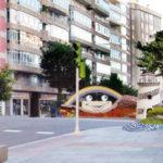 Un mosaico artístico adornará las entradas al túnel de Gregorio Espino